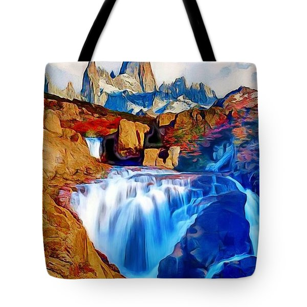 Smokey Mountain View Tote Bag