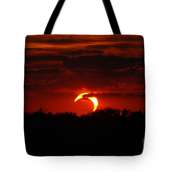 Smokin Moon Tote Bag