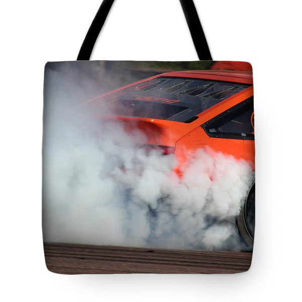 Smoking Ae86 Tote Bag