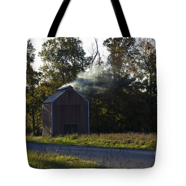 Tote Bag featuring the photograph Smoking Tobacco by Amber Kresge