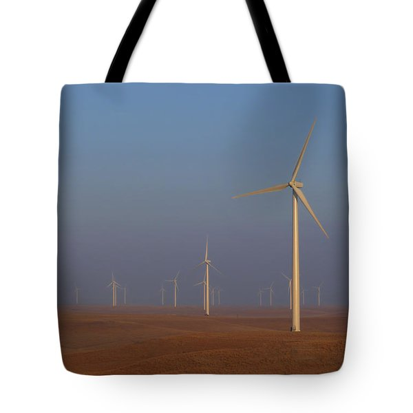 Smoky Hills Wind Project Tote Bag