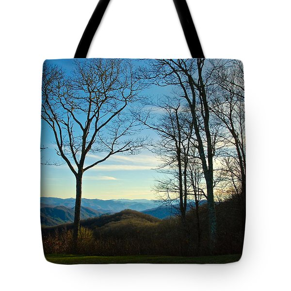 Tote Bag featuring the photograph Smoky Mountain Splendor by Dee Dee  Whittle