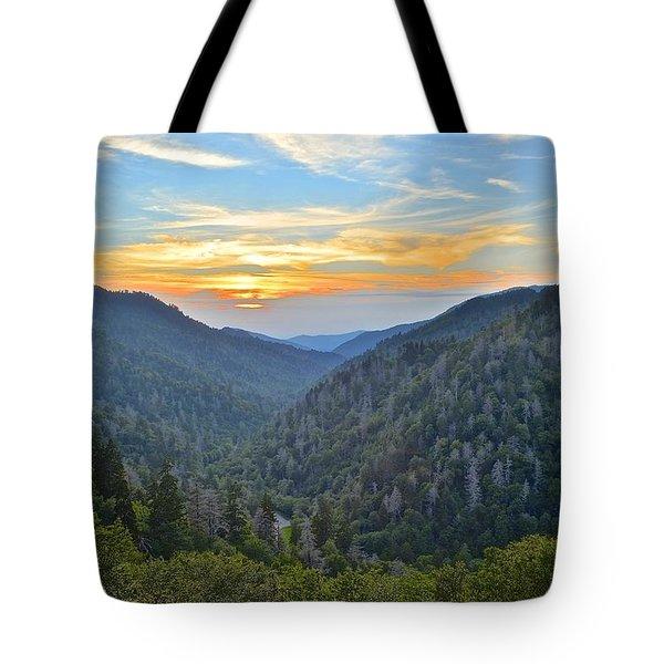 Smoky Mountain Vacation Tote Bag
