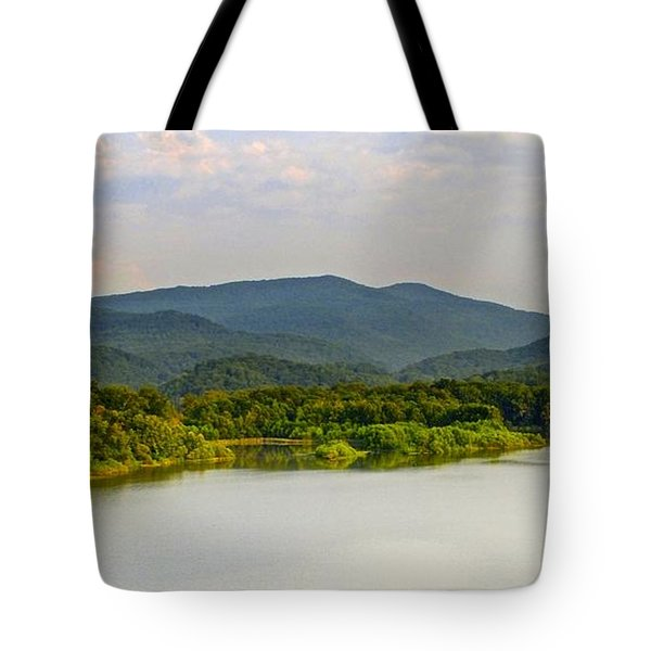 Smoky Mountains Tote Bag by Frozen in Time Fine Art Photography