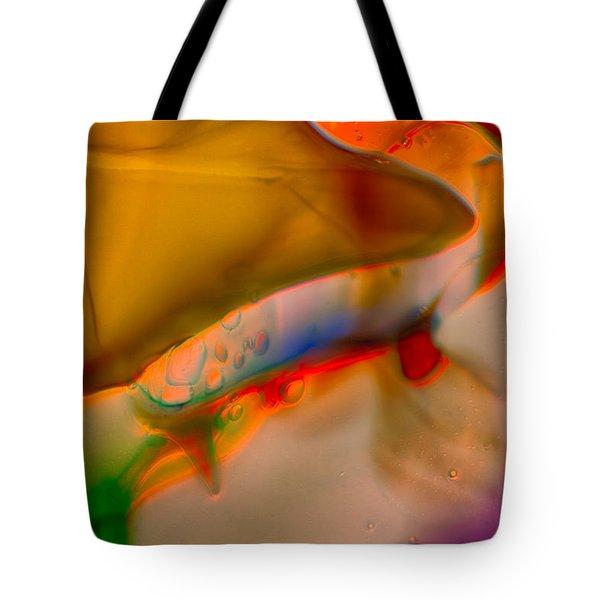Smooshed Tote Bag by Omaste Witkowski