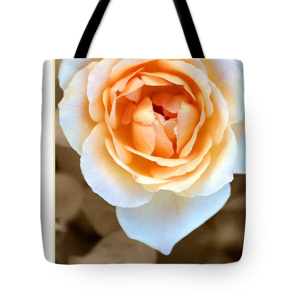Smooth Angel Rose Tote Bag