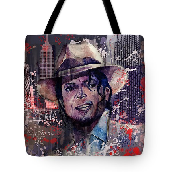 Smooth Criminal Tote Bag by Bekim Art