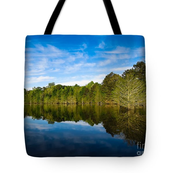 Smooth Reflection Tote Bag