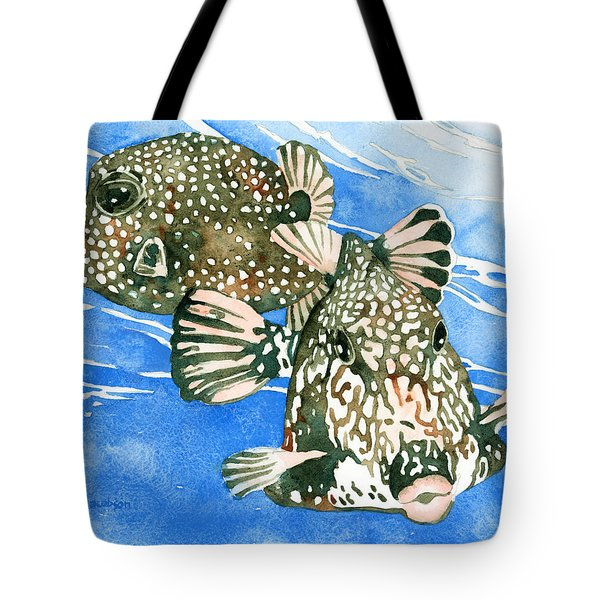 Smooth Trunkfish Pair Tote Bag