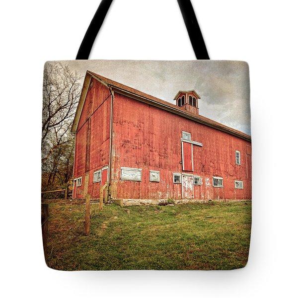 Smyrski Farm  Tote Bag by Bill Wakeley