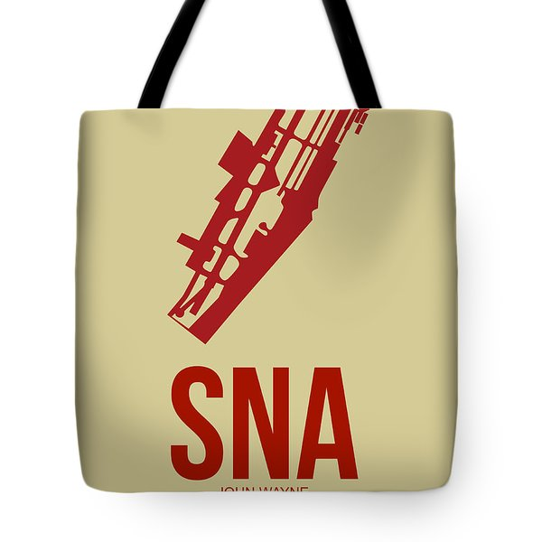 Sna Orange County Airport Poster 2 Tote Bag