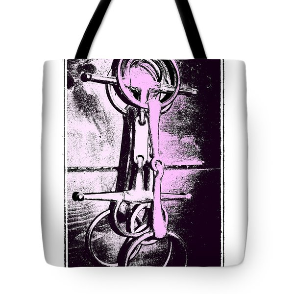 Snaffle Bits Tote Bag by JAMART Photography