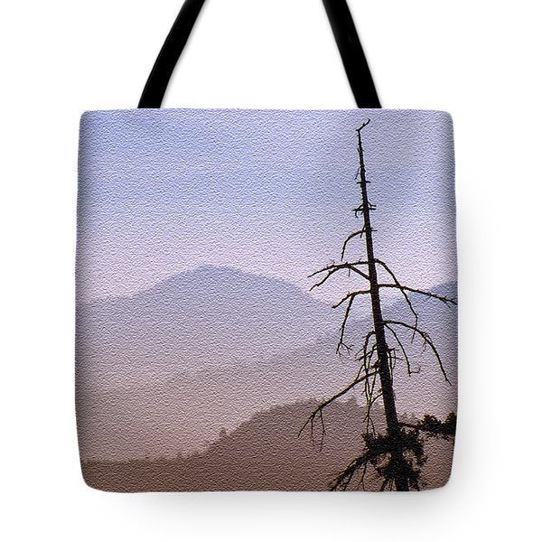 Snag On The Hill Tote Bag