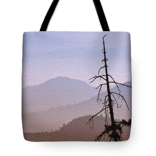 Snag On The Hill Tote Bag by Richard Farrington