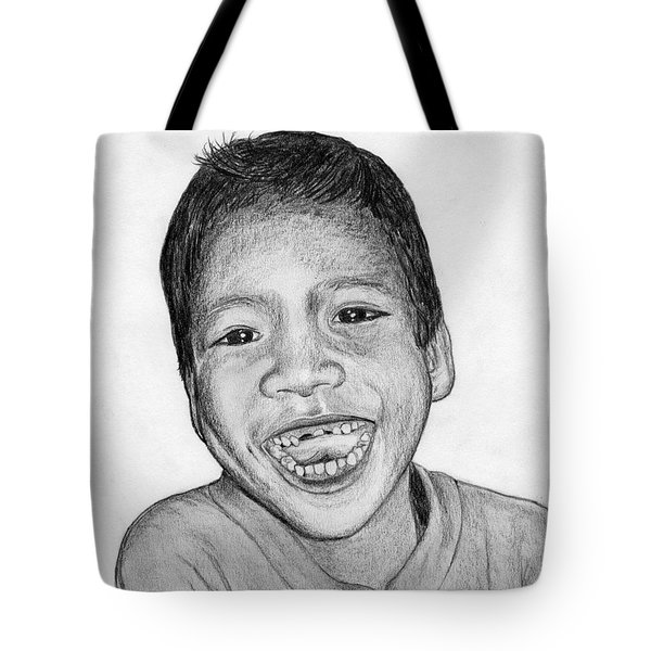 Snaggle-tooth Tote Bag by Lew Davis