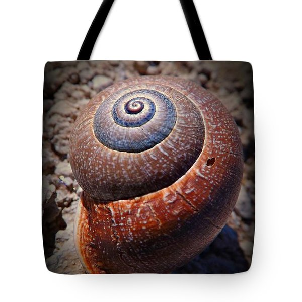 Snail Beauty Tote Bag
