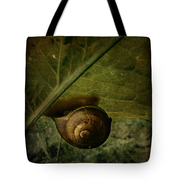 Snail Camp Tote Bag