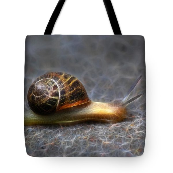 Snail Dreams Tote Bag