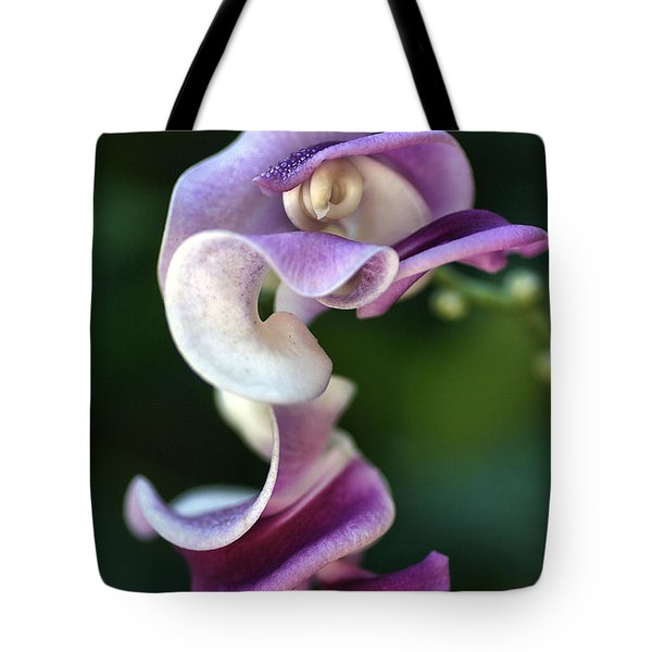 Tote Bag featuring the photograph Snail Flower by Joy Watson