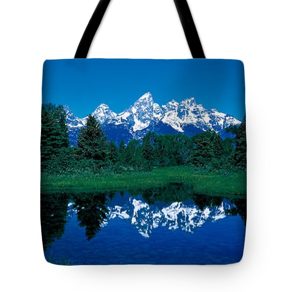 Snake River & Teton Range Grand Teton Tote Bag