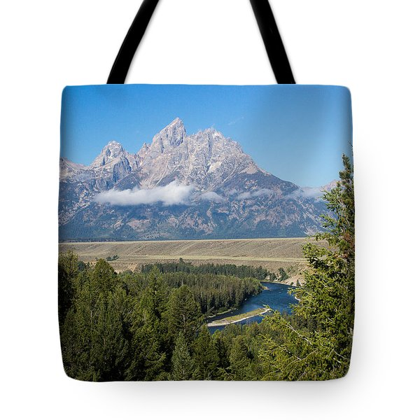 Snake River Overlook Tote Bag