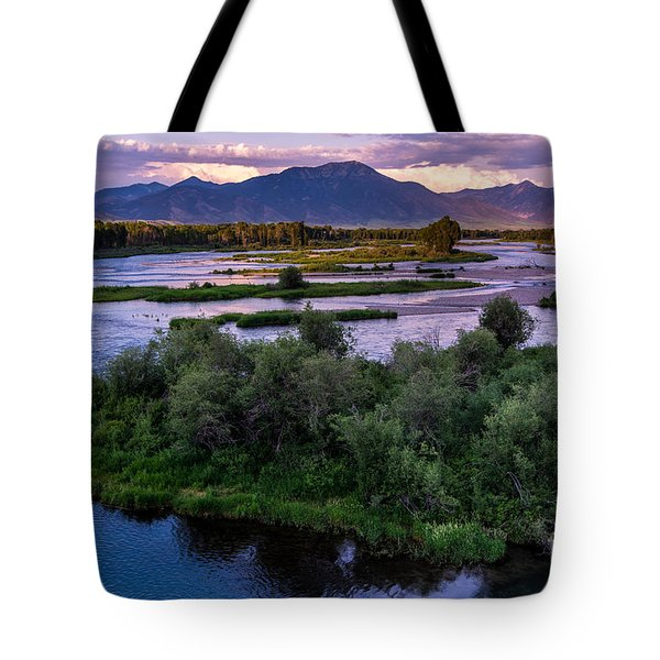 Snake River Sunset - Swan Valley - Idaho Tote Bag