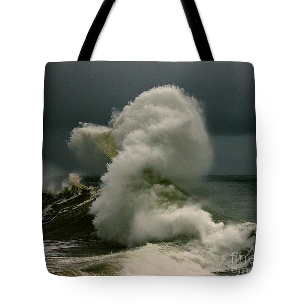 Snake Wave Tote Bag