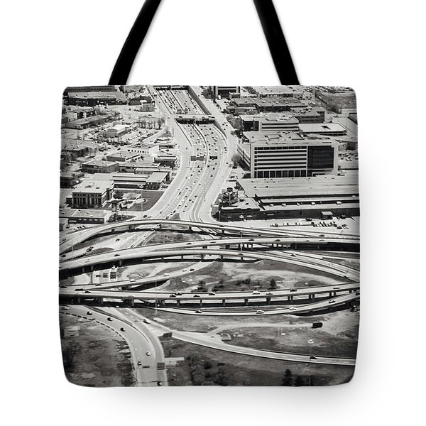 Snakes And Commuters Tote Bag by Lisa Knechtel
