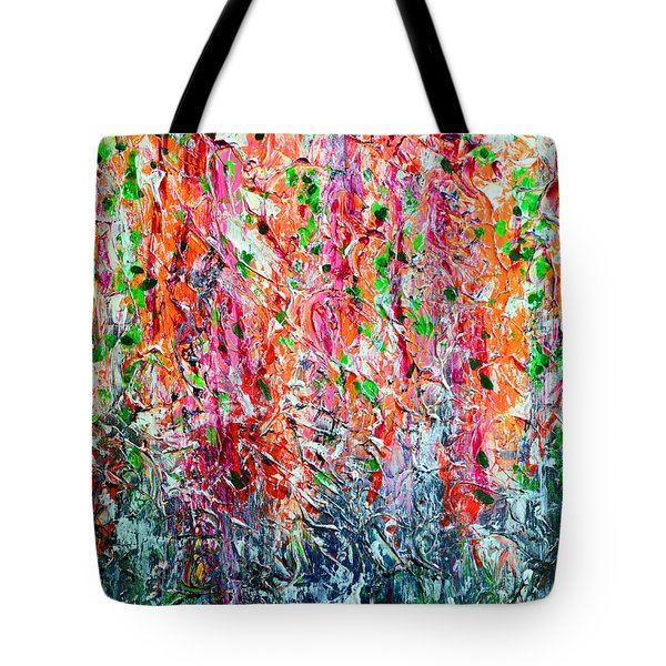 Snapdragons II Tote Bag by Alys Caviness-Gober
