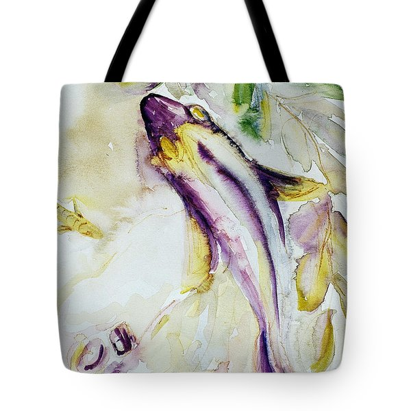 Tote Bag featuring the painting Snapper And Skate by Ashley Kujan