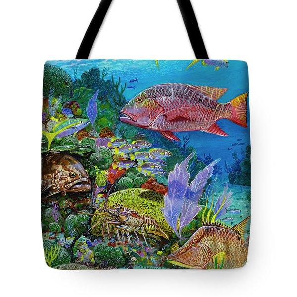 Snapper Reef Re0028 Tote Bag