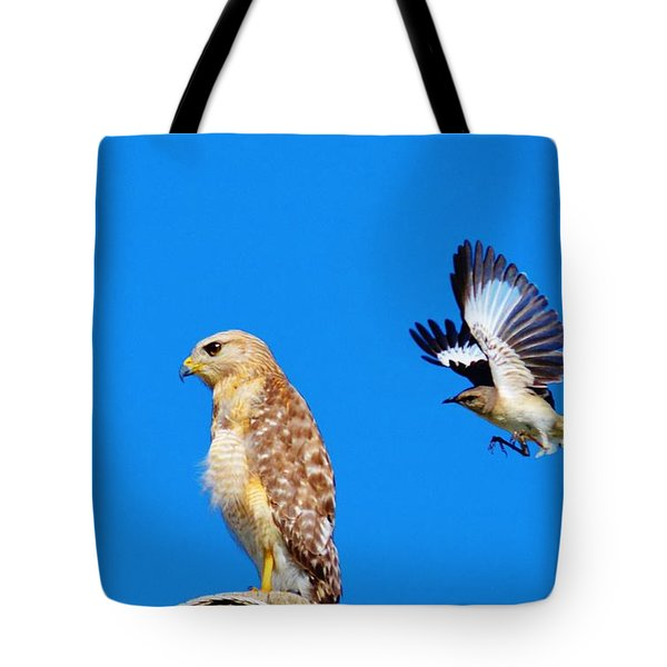 Sneak Attack Tote Bag
