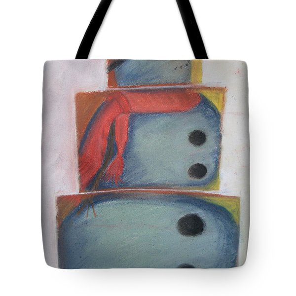 S'no Man Tote Bag