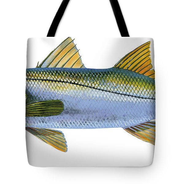 Snook Tote Bag by Carey Chen