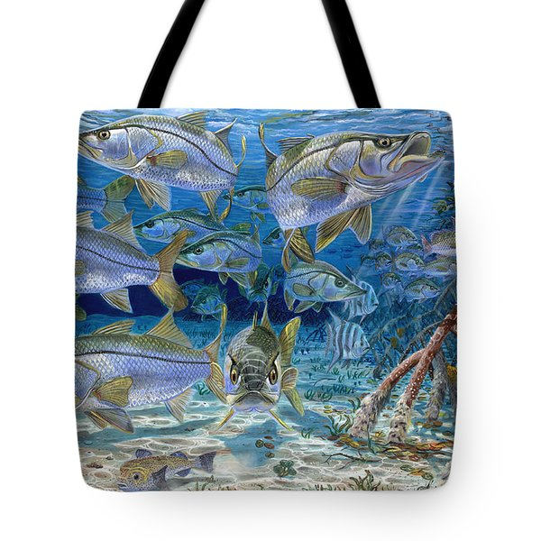 Snook Cruise In006 Tote Bag by Carey Chen