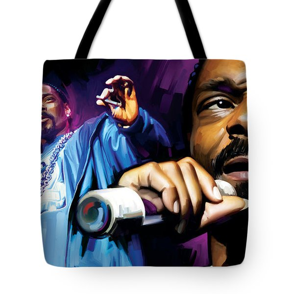 Snoop Dogg Artwork Tote Bag by Sheraz A