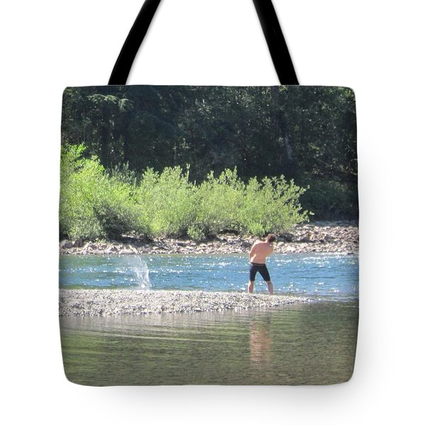 Snoqualmie River 5 Tote Bag