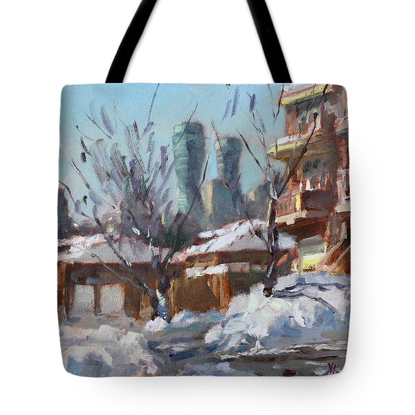 Snow And Sun Tote Bag
