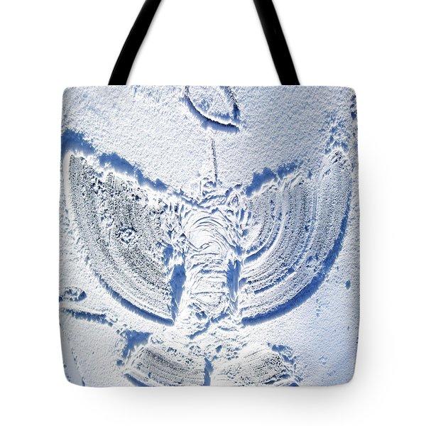 Snow Angel Tote Bag