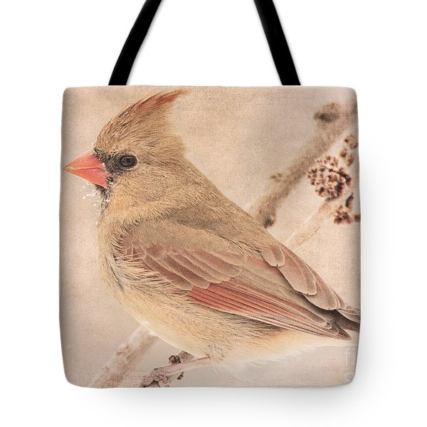 Snow Bearded Lady Tote Bag