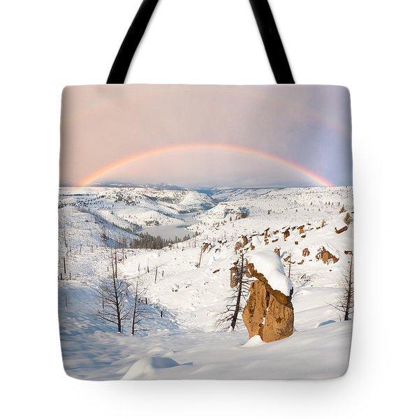 Snow Capped Hoodoo's Tote Bag