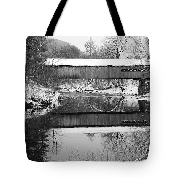 Snow Covered Coombs Tote Bag