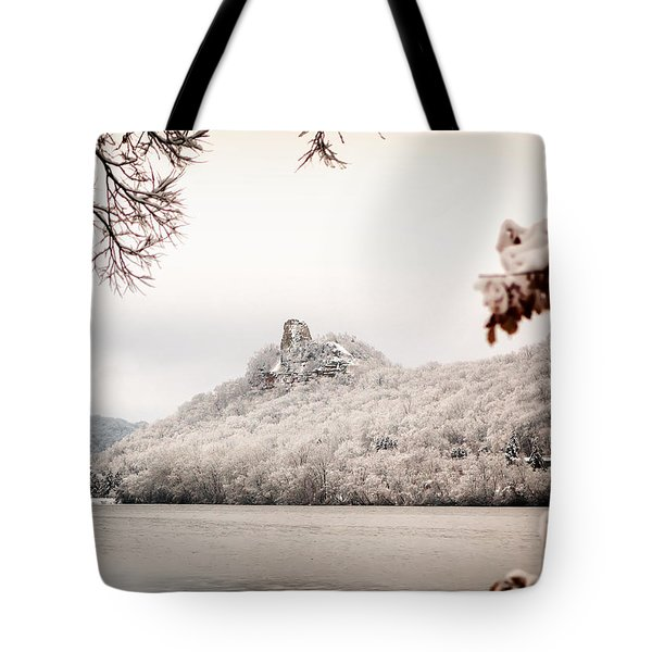 Snow Covered Sugarloaf Tote Bag