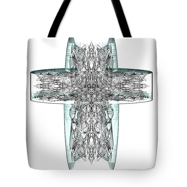Snow Cross 7  Tote Bag