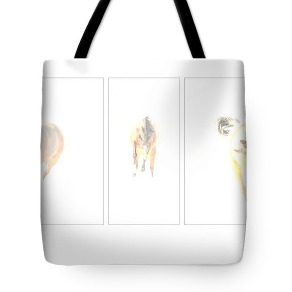 Snow Dance Tote Bag