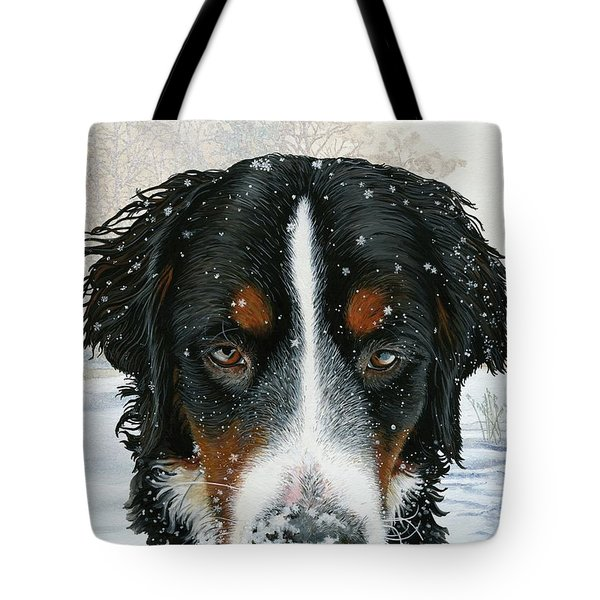 Snow Day Tote Bag by Liane Weyers