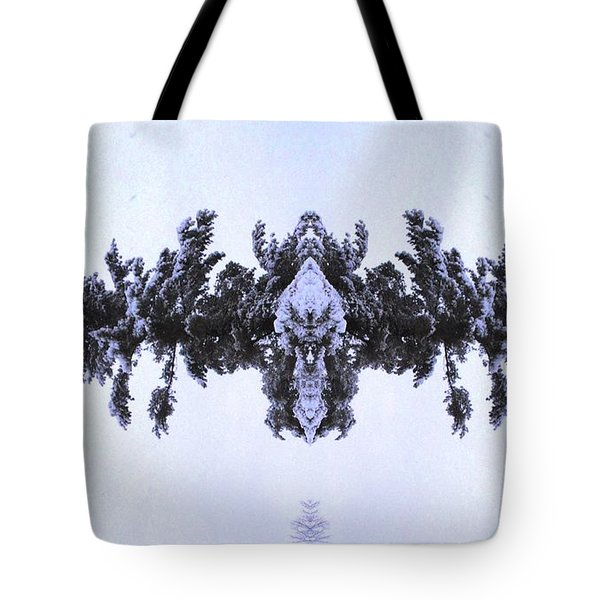 Snow Delivery Tote Bag