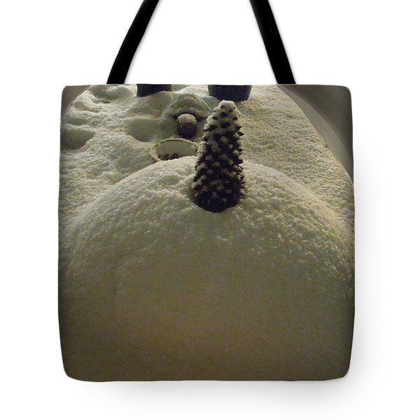 Snow Fall Serie December 2012 Tote Bag by Colette V Hera  Guggenheim