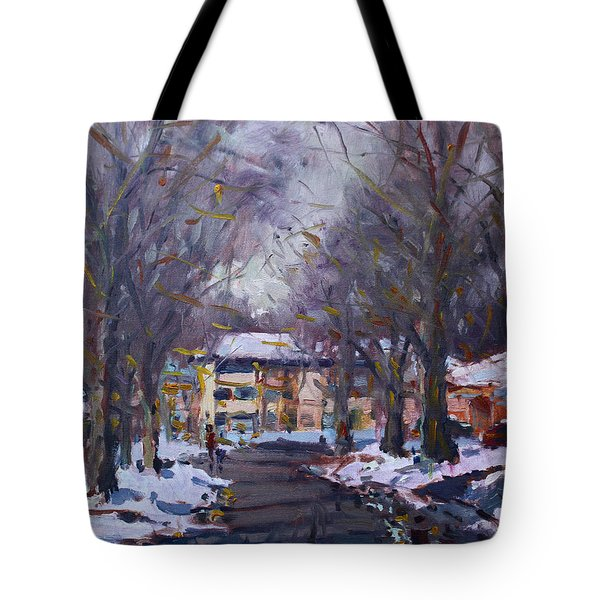 Snow In Silverado Dr Tote Bag