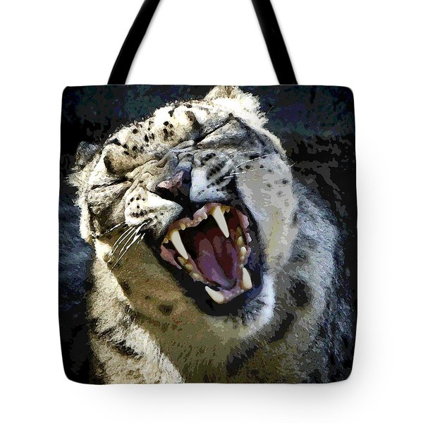 Snow King Tote Bag by David Millenheft